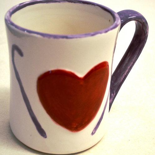 Heart Mug 12oz