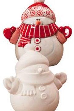 Large Snowman Figure
