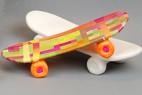 Skateboard Ornament