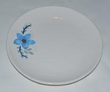 Blue Flower Plate
