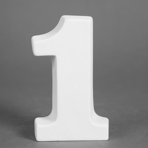 Number 1 12.7cm