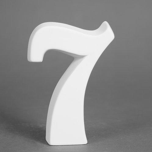 Number 7 12.7cm
