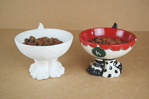 Pet Bowl with Paws