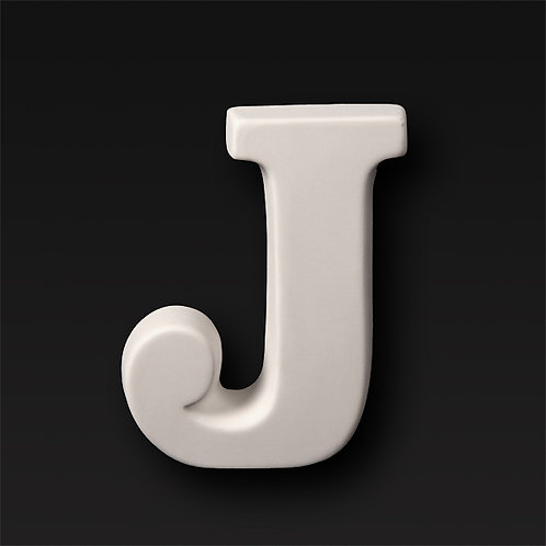 Letter J 12.7cm