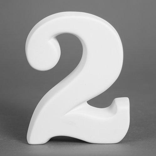 Number 2 12.7cm
