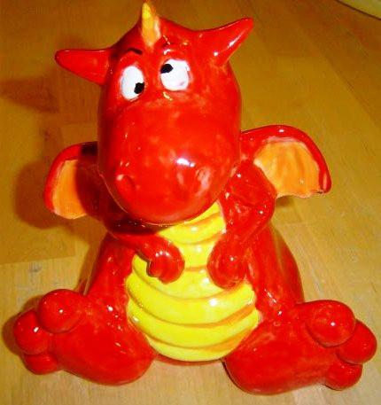 Red Dragon Money Box