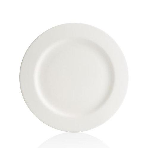 Rimmed Dinner Plate 25.4cm