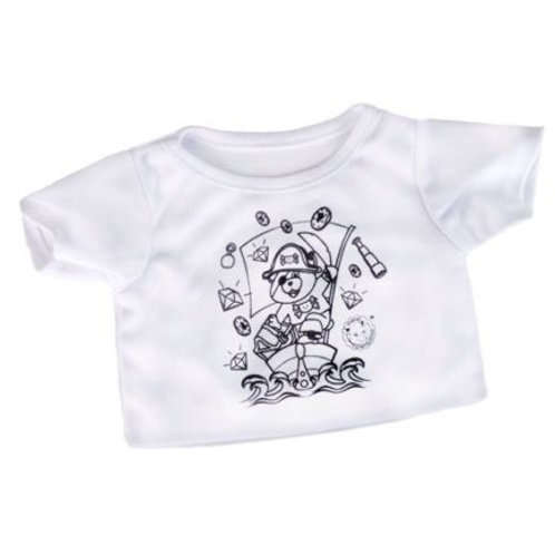 Colour-in pirate t-shirt
