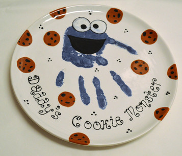 Daddy's Cookie Monster