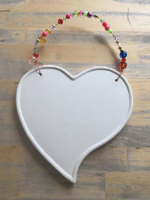 Large Heart Plaque