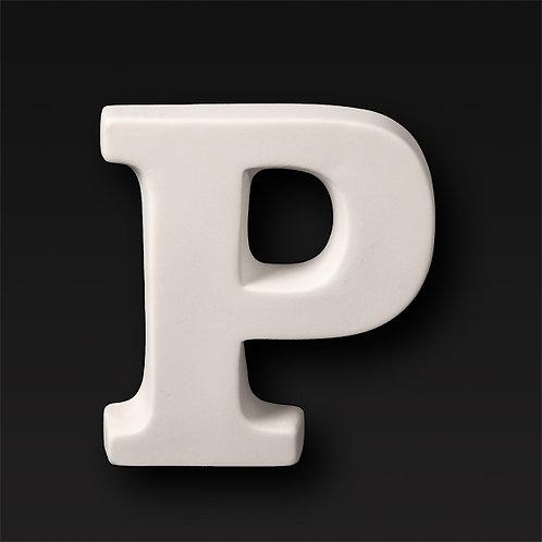 Letter P 12.7cm