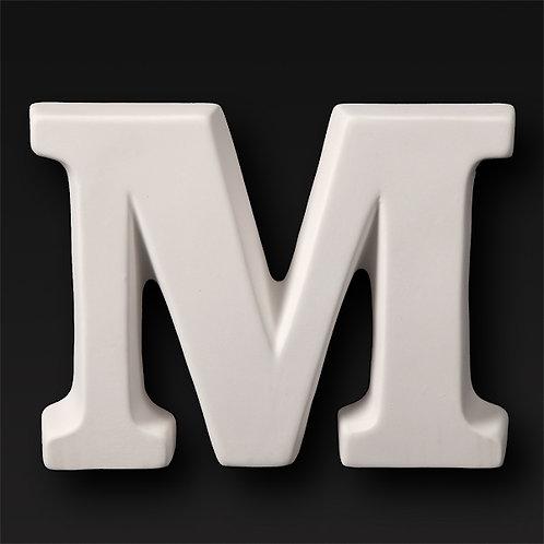 Letter M 12.7cm