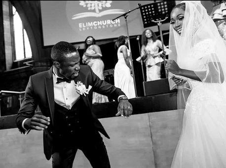Nigerian Bride and Groom Dance off - Nigerian Wedding DJ