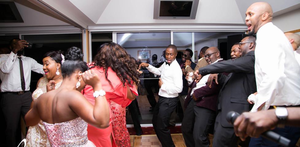 Mariage nigérian au Lingfield Park Resort