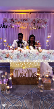 Bride and Groom - DJ Blink Blink Nigerian Wedding DJ