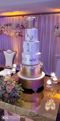 Bridal Cake photoshoot by DJ Blink Blink - Nigerian Wedding DJ London