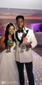 Bride and Groom - Afrobeats Wedding DJ London UK