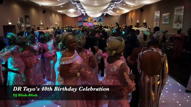 40th Birthday Party - Afrobeats Wedding DJ London