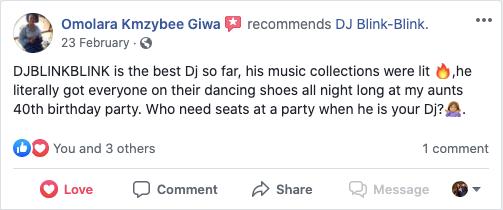 Guest Feedback - Nigerian Wedding DJ.png