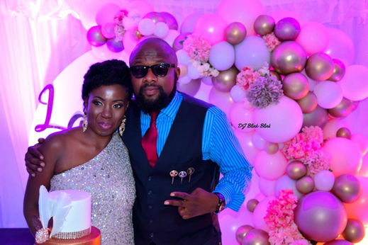 40th Birthday Photoshoot with the Celebrant - Nigerian DJ For Hire