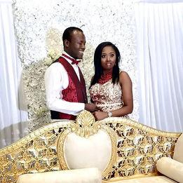 Bride and Groom - Nigerian Wedding DJ