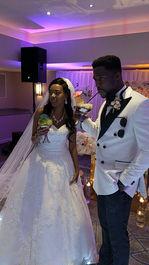 Zimbabwe Bride and Nigerian Groom