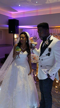 Zimbabwe Bride and Nigerian Groom - Afrobeats Wedding DJ
