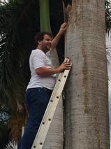 Juan Pablo Culasso en Proyecto Guacamayo Azul - Brasil 2014