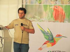 Juan Pablo Culasso en el Festival de aves del Tolima 2016