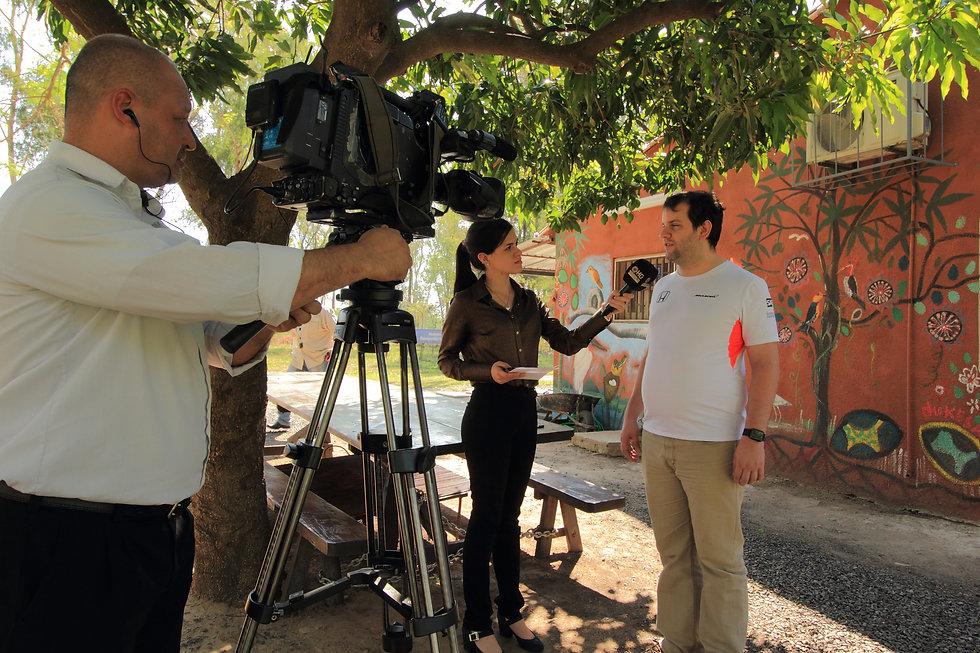 Juan Pablo Culasso en entrevista para medios audiovisuales