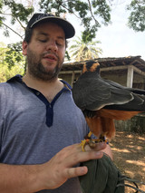 Juan Pablo Culasso durante el Risaralda BirdFestival, en Pereira, Colombia, 2018