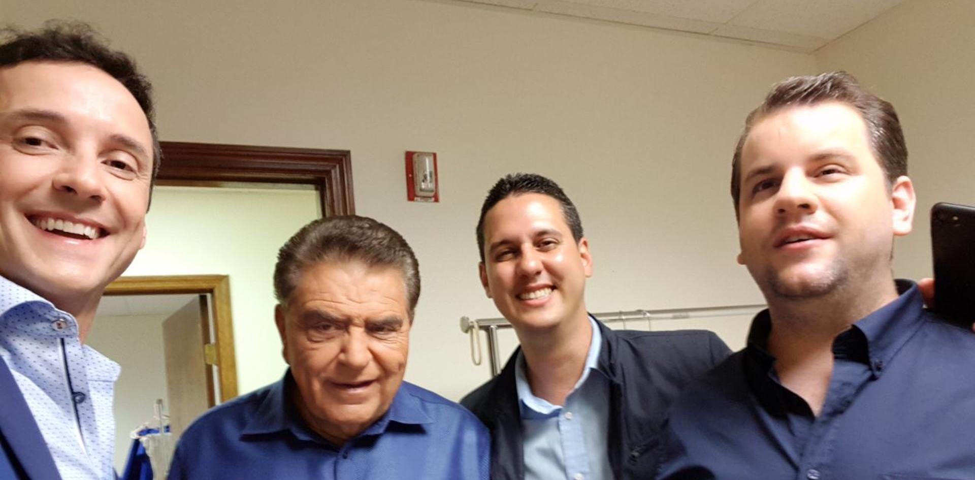 Juan Pablo Culasso y Don Francisco 2017