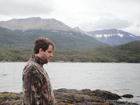 Juan Pablo Culasso en la Patagonia