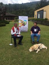 Juan Pablo Culasso en entrevista en quinto congreso de aviturismo Manizales, Caldas, Colombia, 2016