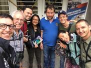 Juan Pablo Culasso en la octava feria de aves de suramérica 2018