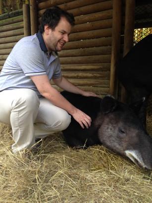 Juan Pablo Culasso en Zoológico de Cali - Danta - 2017