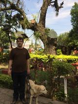 Juan Pablo Culasso con su perro guía - 2014.jpg