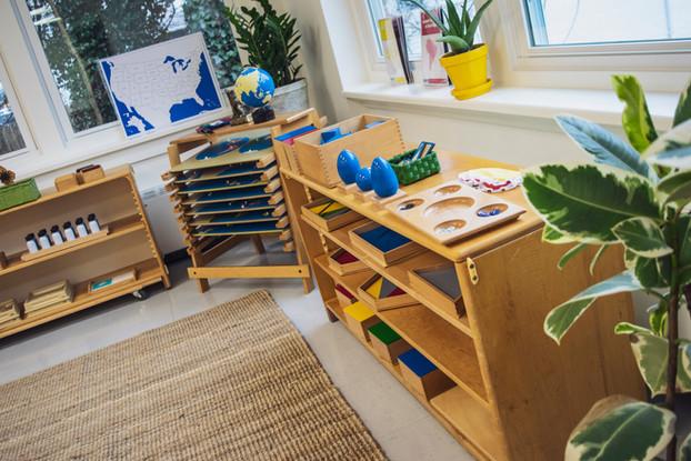 Montessori School Classroom at The Schoo