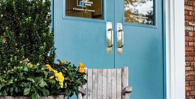 Front Door at The School House