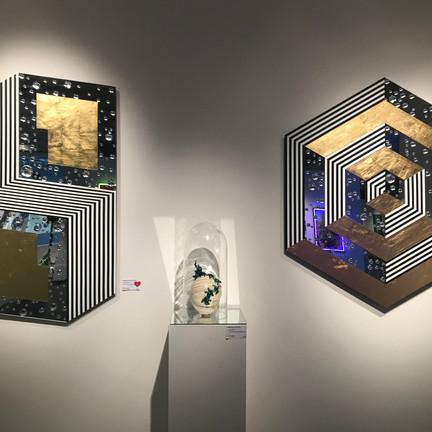 Isabelle Derecque Art Miroir exposition WAA
