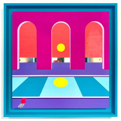 L'ombre du cube ° 50 x 50 cm ° 700€