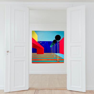 Perspective #3 ° 110 x 110 cm ° 2.200€