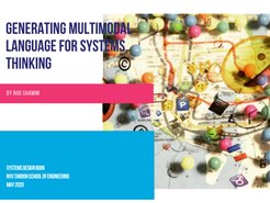 Generating Visual Languages for Systems Thinking