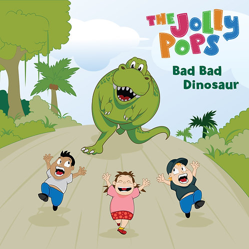 "The Jolly Pops ""Bad Bad Dinosaur"" CD"