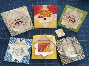 Paper Arts: Simple Folded Frame