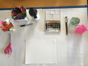 preparing your creative space (inside and out)