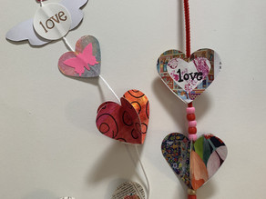 Getting Crafty: Hanging Hearts Arts