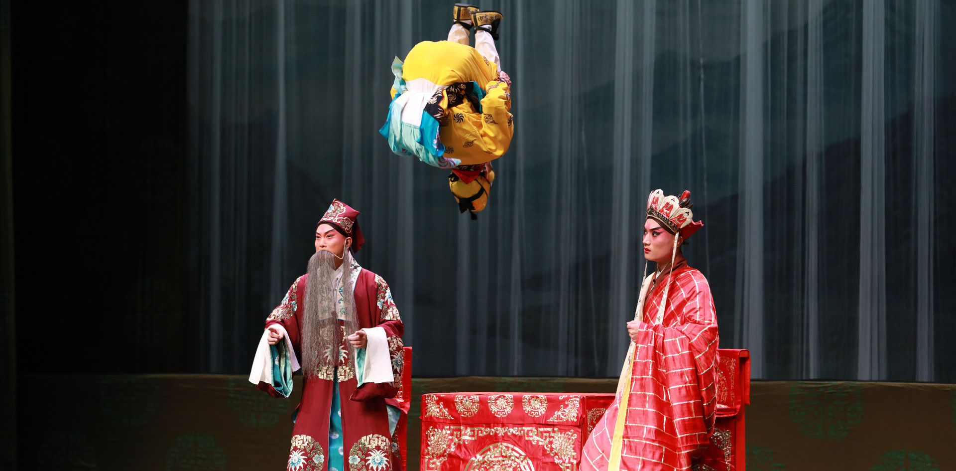 The Monkey King & The Leopard