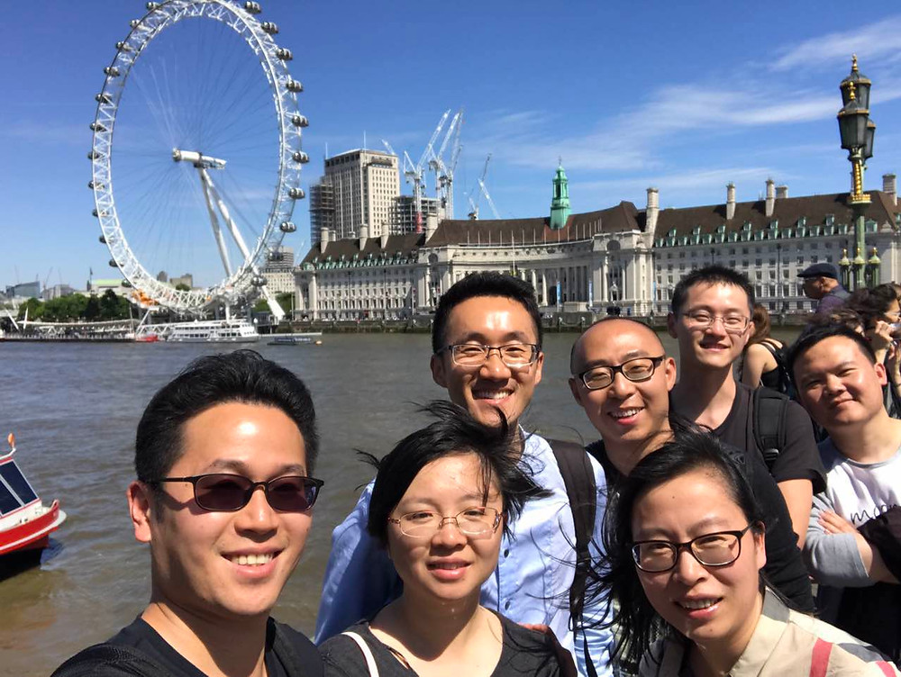 Zhejiang Observer Group enjoy a day in London