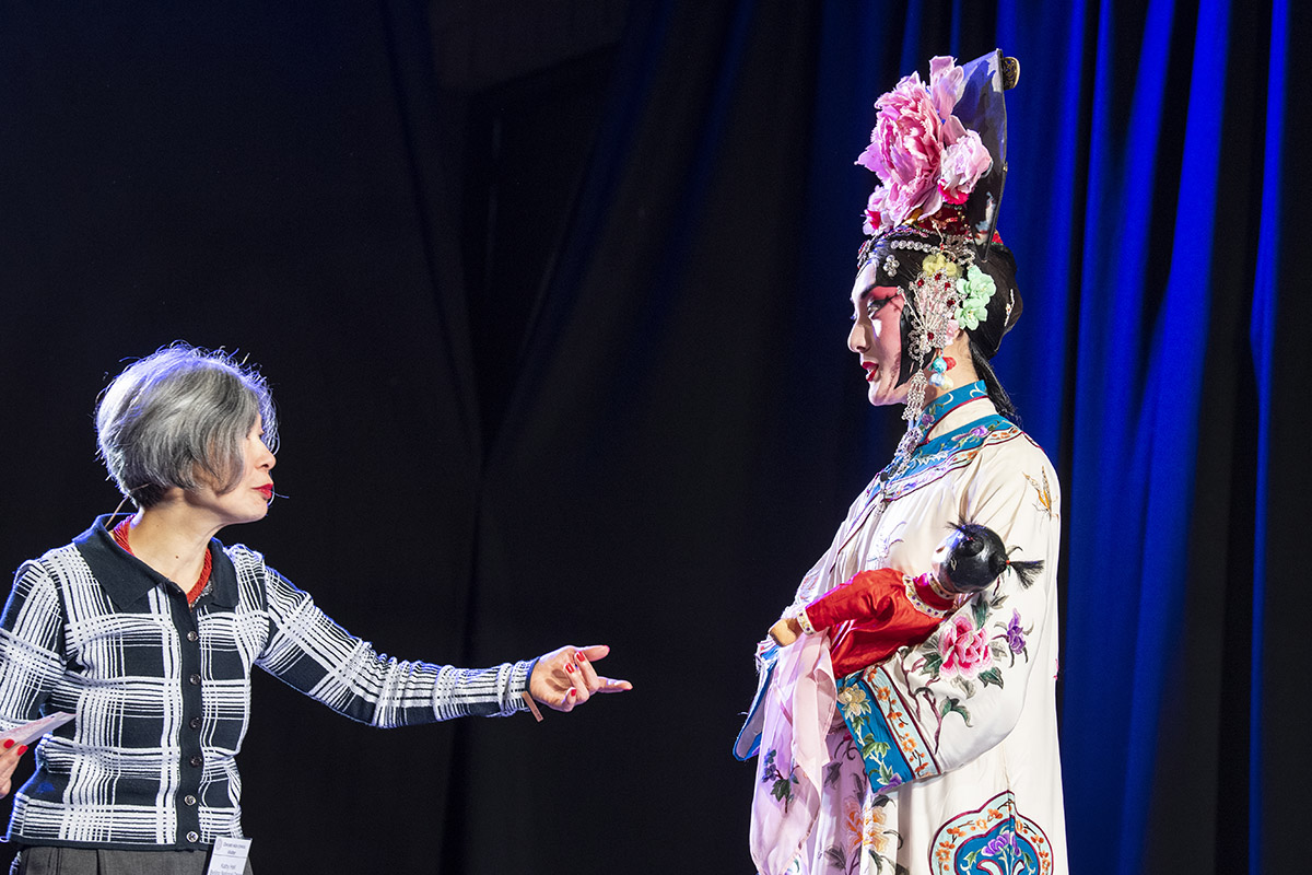 Peking Opera workshop